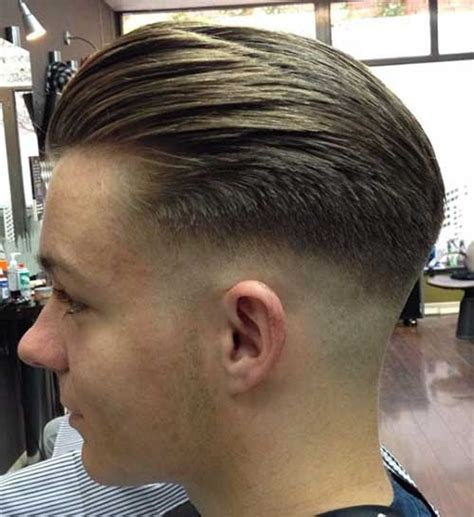 low fade men s haircut 2013 slicked back mens short trendy haircut ideas