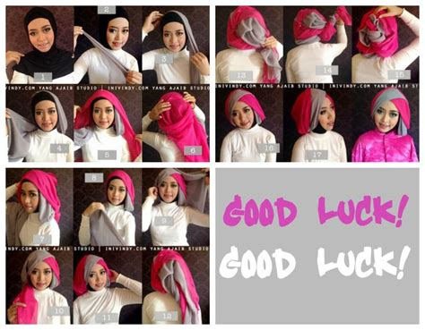 tutorial berhijab buat wisuda 46 best images about step by step on pinterest toaster