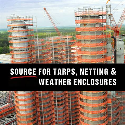 Fall Protection Strapping Band eagle industries tarps debris netting enclosures