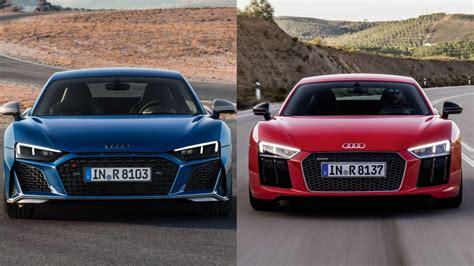 Audi Gt Coupe 2020 by Photo Comparison 2020 Audi R8 Vs 2015 Audi R8