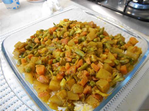 cucina indiana piatti tipici biryani di verdure un piatto tipico indiano