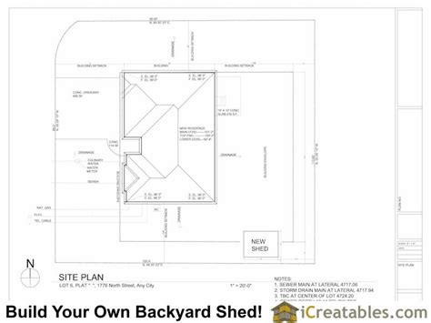 draw a plot plan of your house icreatables