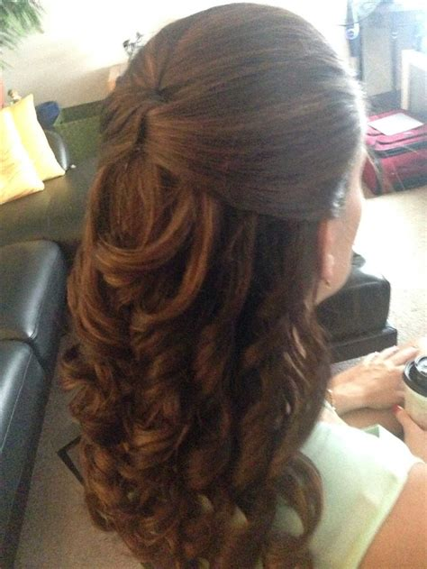 special occasion hairstyles half up half down 17 best ideas about wedding down dos on pinterest