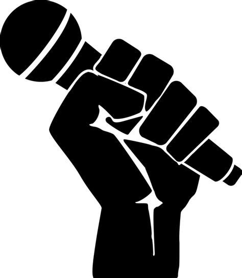 imagenes png rap vector gratis lucha pu 241 o micr 243 fono m 250 sica rap