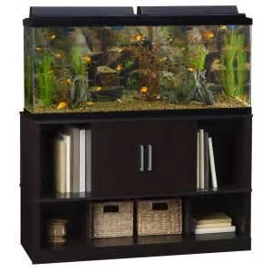 Pics Photos   55 Gallon Aquarium Stand With Center Shelves In Heirloom