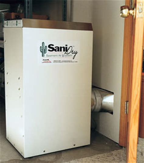 sanidry basement air system energy efficient dehumidifiers in southern missouri