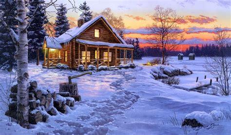 colorado log cabin homes log cabin winter scenes log home winter cabin winter scenes pinterest