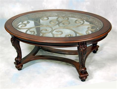 luxurius oval mahogany coffee table with home decorating