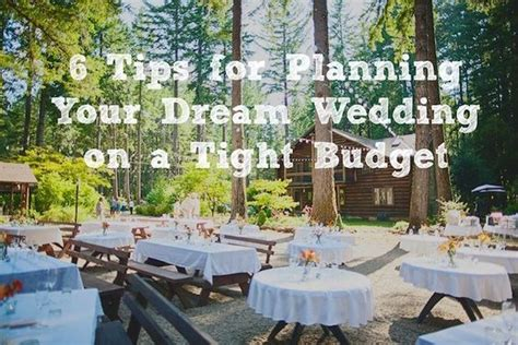 6 tips for planning your wedding on a tight budget a guest post woodsy weddings photo - Weddings On A Tight Budget Nz