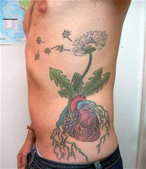 side stomach tattoos flower tattoos on side of stomach
