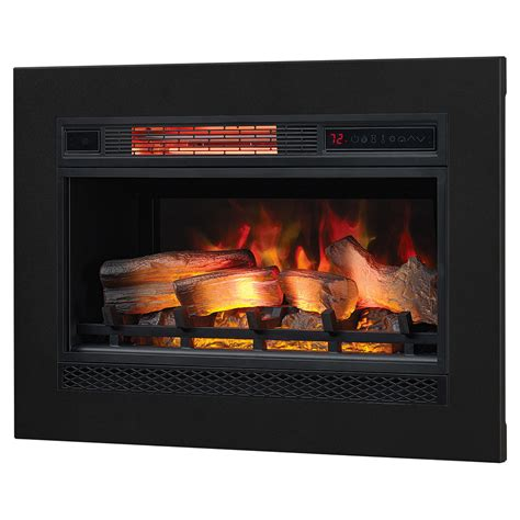 fireplace insert trim kit classicflame classicflame 26 in 3d spectrafire plus infrared electric