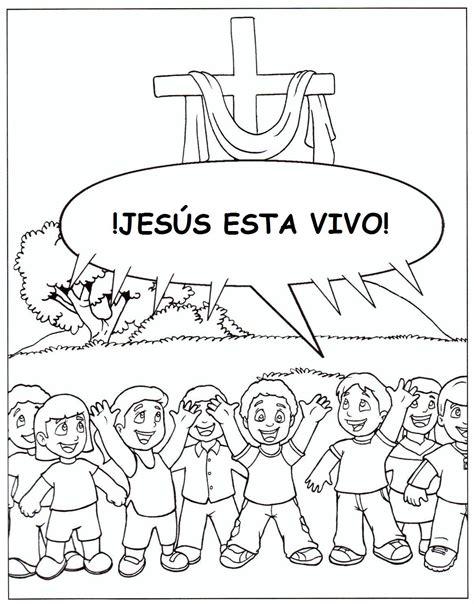 imagenes de jesus esta vivo jesus esta vivo pagina de colorear biblia kids