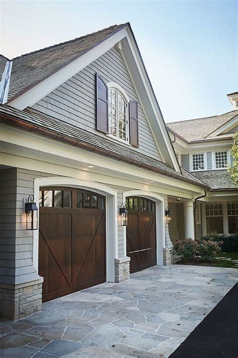 exterior door for garage best 25 wood garage doors ideas only on