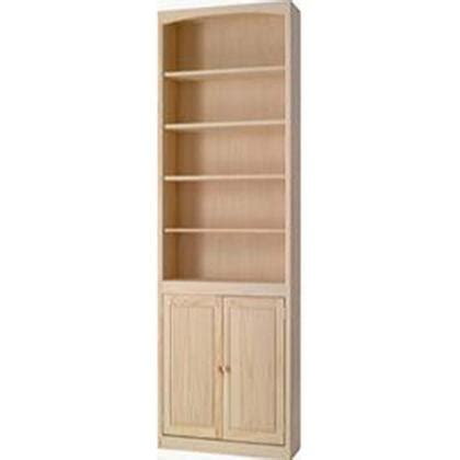 pine 24 inch bookcase with doors archbold furniture