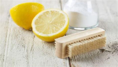 Bicarbonato E Limone Per Pulire by Detersivo Fai Da Te Bicarbonato E Limone Idee Green