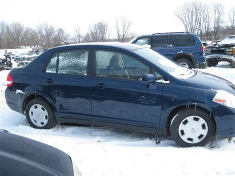 nissan versa blue 2009 cheap fixer upper 2009 nissan versa sl 4 dr blue 1 8l auto