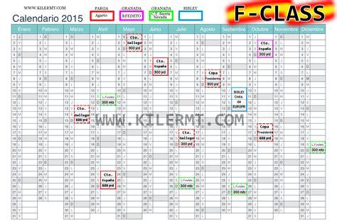 calendario f class kilermt