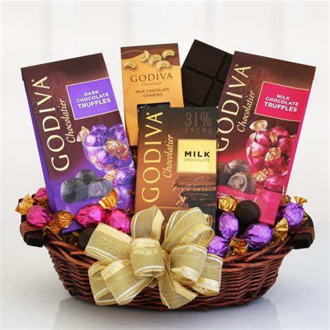 chocolate gift baskets godiva chocolate gift baskets free shipping