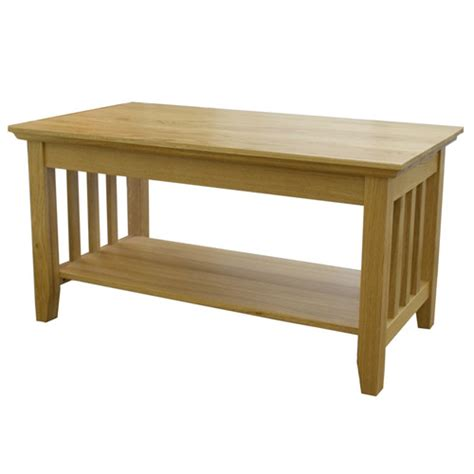 boston slatted oak wooden coffee table buy coffee tables