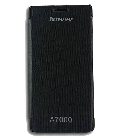 Lenovo A7000 Ory Casing Cover Anti 4 easyfit leather flip cover for lenovo a7000 black flip covers at low prices