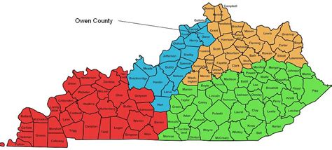 ky map by county owenton net created by ed seale