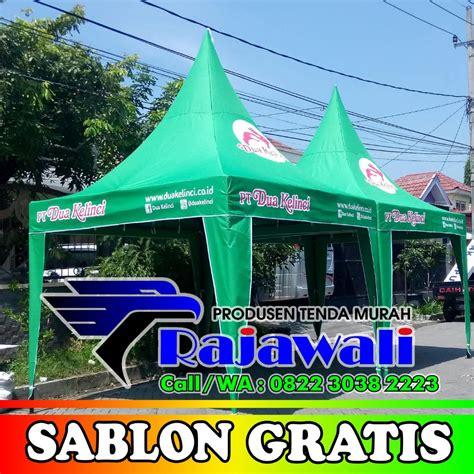 penjualan tenda kerucut  indonesia