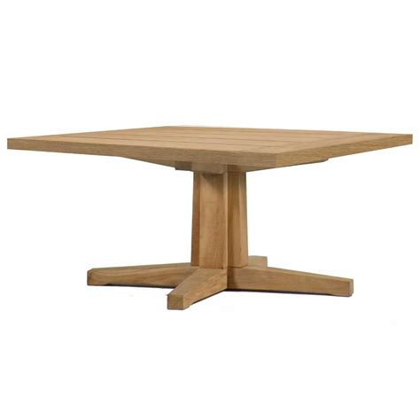 coffee table pedestal base teak coffee table pedestal base summer classics