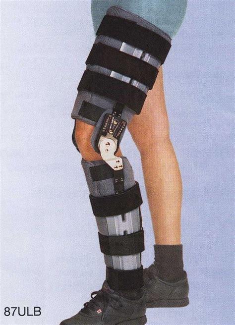 leg brace adjustable hinged universal leg brace free shipping
