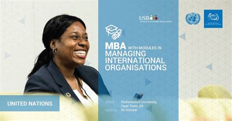 Mba Streams by Unssc Mba In Managing International Organisations