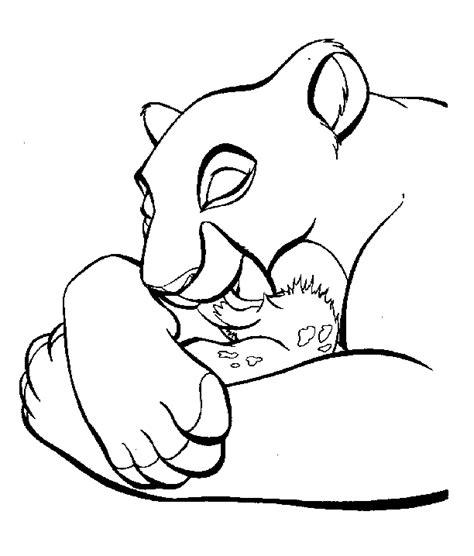 imagenes de leones para colorear dibujos para colorear de el rey le 243 n the lion king il re