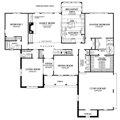 southern style house plan 4 beds 4 baths 3549 sq ft plan