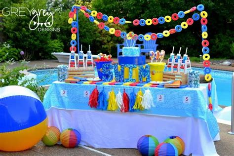 pool party ideas kara s party ideas summer pool party ideas planning cake