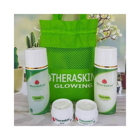 theraskin paket glowing original poriskosmetik