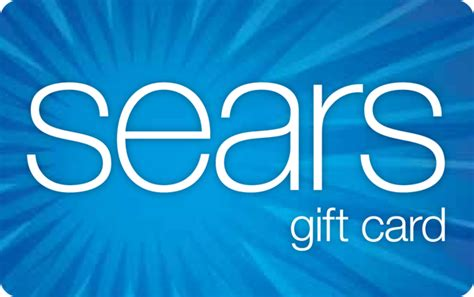 Sears Gift Card Balance - buy a sears gift card online available at giant eagle