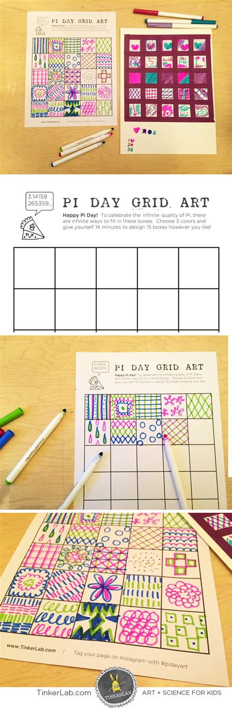 creative pattern games pi day 2015 pi day art project tinkerlab