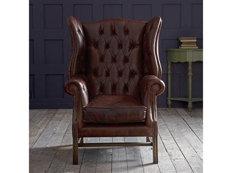Fireside Armchairs by Manchester Vintage Leather Fireside Armchair Click To Zoom