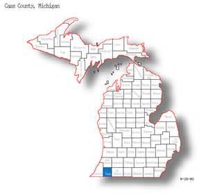 cass county map cass county michigan maps