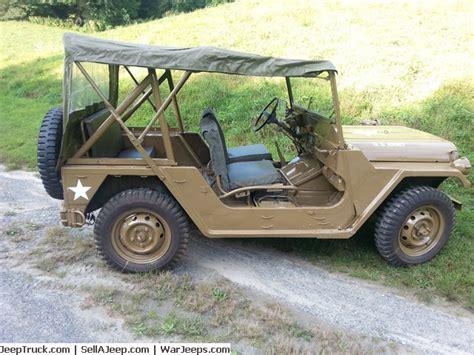 M151a2 Jeep For Sale 030 3l72uu