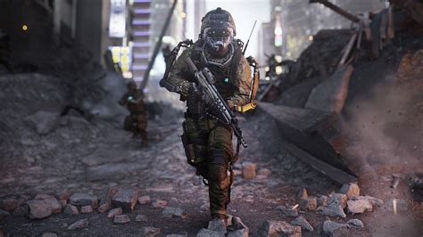 cull of duty call of duty advanced warfare e3 preview high tech