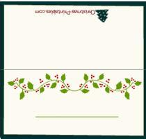 new year place cards templates children s card templates free merry