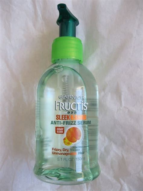 Serum Garnier Essence Review garnier fructis sleek and shine anti frizz serum review