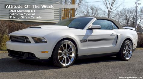 2011 mustang white performance white 2011 ford mustang gt california special