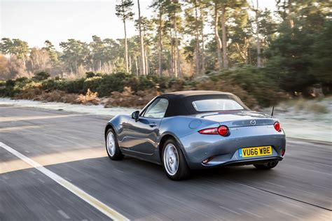 mazda cars uk mazda cools up mx 5 with new arctic edition for the uk 47