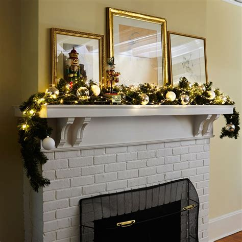 Modern Holiday Lights Seven Ways Design Necessities Lighting Mantel Lights