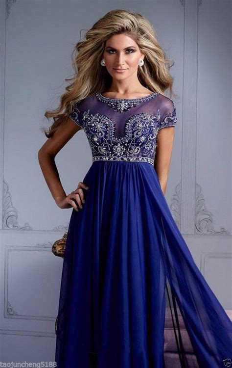 royal blue formal dresses royal blue formal evening dresses pageant prom dress gown aaa ebay