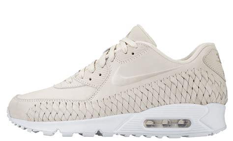 Nike Air Max 90 Woven All White nike air max 90 woven phantom white the sole supplier
