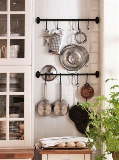 Pegboard Kitchen Ideas by 27 Smart Kitchen Wall Storage Ideas Shelterness