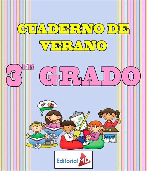 libro chicos chicas cuaderno de ejercicios cuaderno de verano para imprimir tercer grado primaria