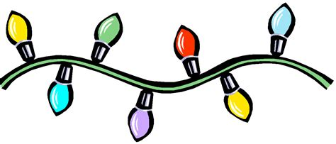 christmas strobe light string christmas lights clipart flashing pencil and in color