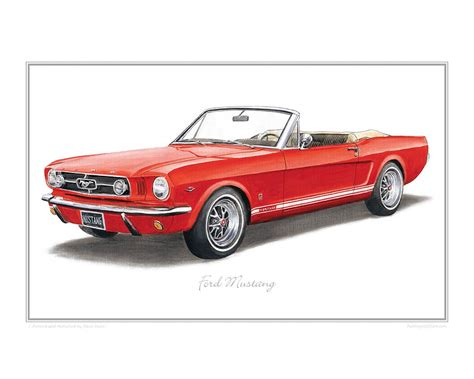 ford mustang prints ford mustang print